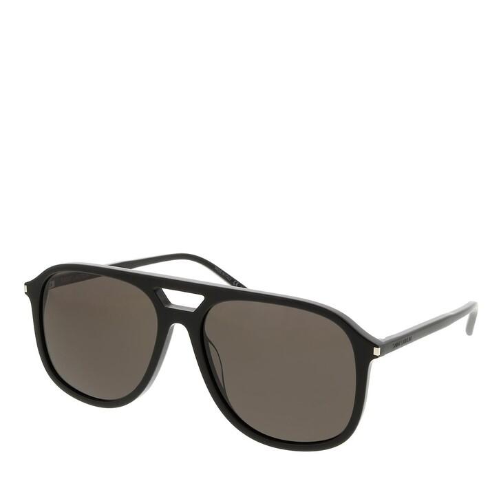 sunglasses, Saint Laurent, SL 476-001 58 Sunglass Man Acetate Black-Black-Black