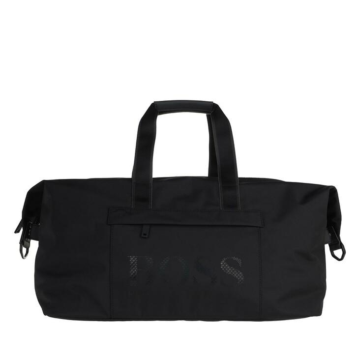 Handtasche, Boss, Magn Holdall Black