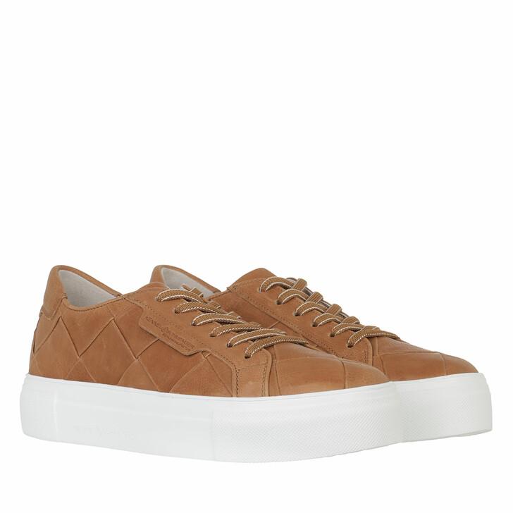 shoes, Kennel & Schmenger, Big Sneaker Leather            cognac