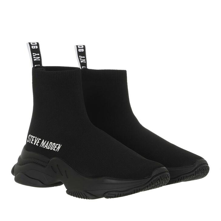 shoes, Steve Madden, Master Sneaker Black Black
