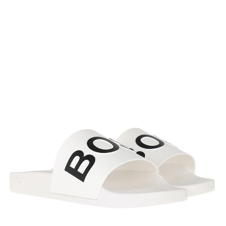 shoes, Boss, Bay Slid White