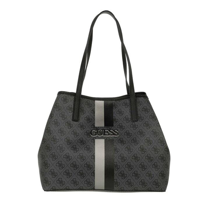 bags, Guess, Vikky Tote Coal/Black
