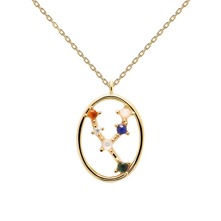 Kette, PDPAOLA, Necklace TAURUS Yellow Gold