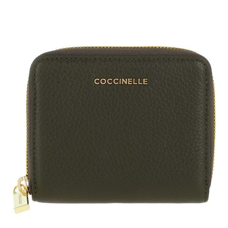 Geldbörse, Coccinelle, Metallic Soft Wallet Leather  Reef