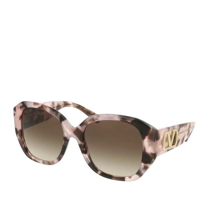 sunglasses, Valentino, 0VA4079 506713 Woman Sunglasses Legacy Pink Havana