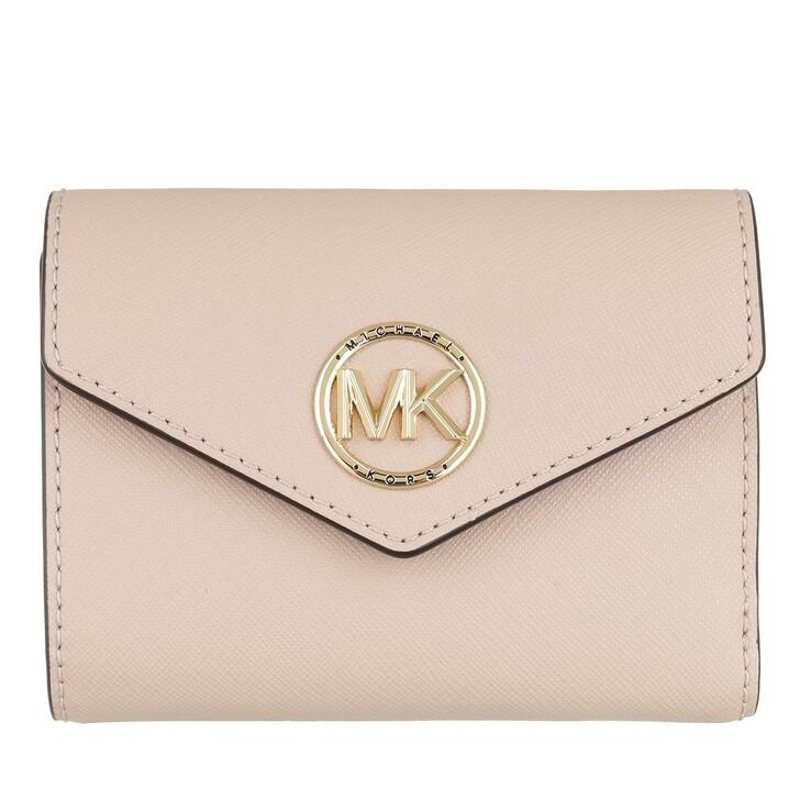 Geldbörse, MICHAEL Michael Kors, Medium Env Trifold Soft Pink