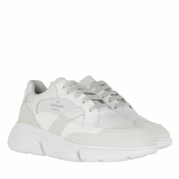 Schuh, Copenhagen, Sneaker Material Mix White