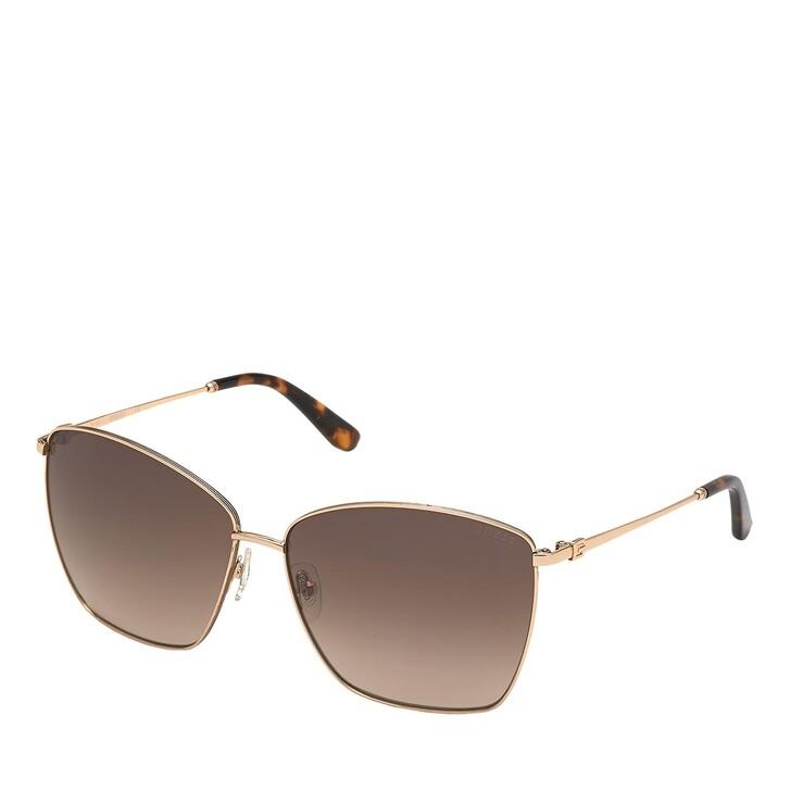 Sonnenbrille, Guess, GU7745 Gold/Brown