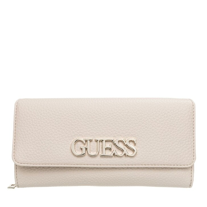 Handtasche, Guess, Uptown Chic Large Clutch Stone Multicolor