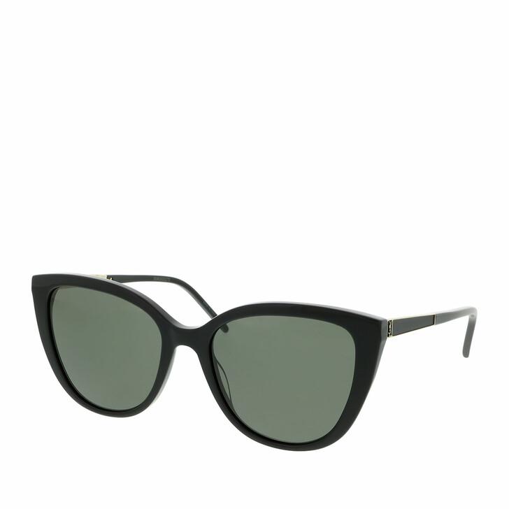 sunglasses, Saint Laurent, SL M70-002 55 Sunglass WOMAN ACETATE Black