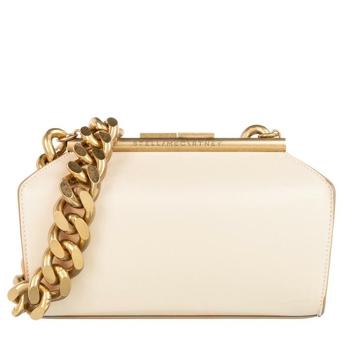 Handtasche, Stella McCartney, Medium Satchel Leather Cream