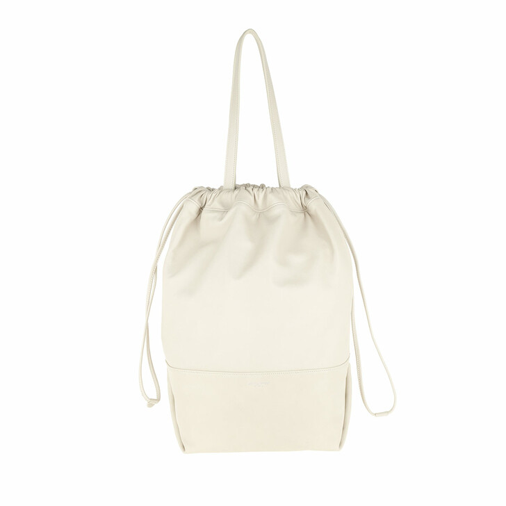 Handtasche, Saint Laurent, Harlem Shopping Bag Lambskin Crema