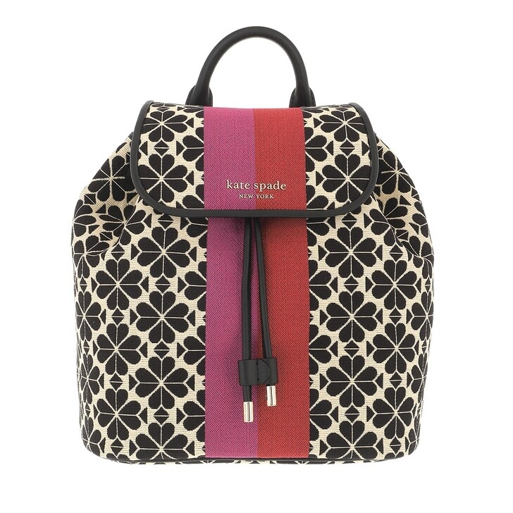 bags, Kate Spade New York, Flare Medium Backpack  Cream Multi