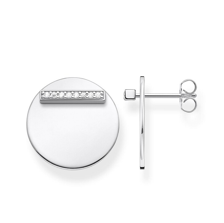 Ohrring, Thomas Sabo, Ear Studs Together Coin Silver