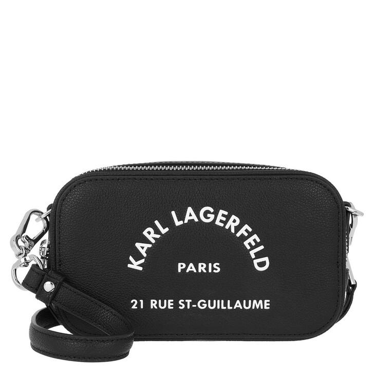 Handtasche, Karl Lagerfeld, Rue Saint Guillaume Crossbody Black