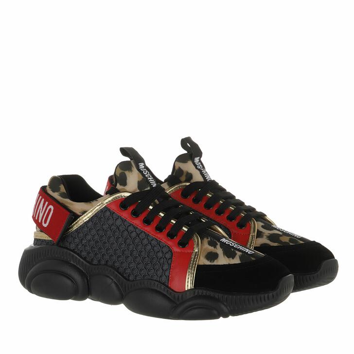 shoes, Moschino, Sneakerd Orso30 Mix  Leo