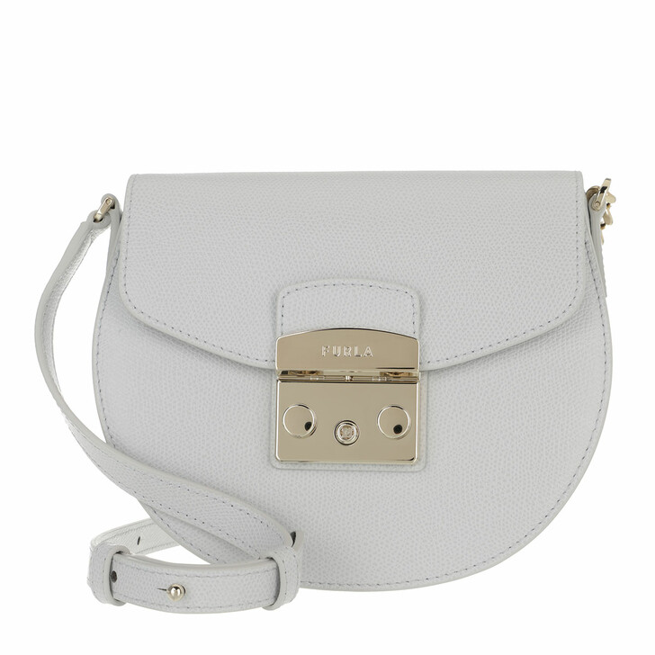 Handtasche, Furla, Metropolis Mini Crossbody Round Color Crystal
