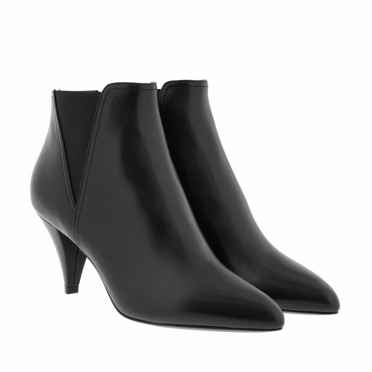 Schuh, Celine, Chelsea Cropped Boots Black