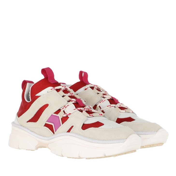 Schuh, Isabel Marant, Kindsay Sneakers Red/Pink