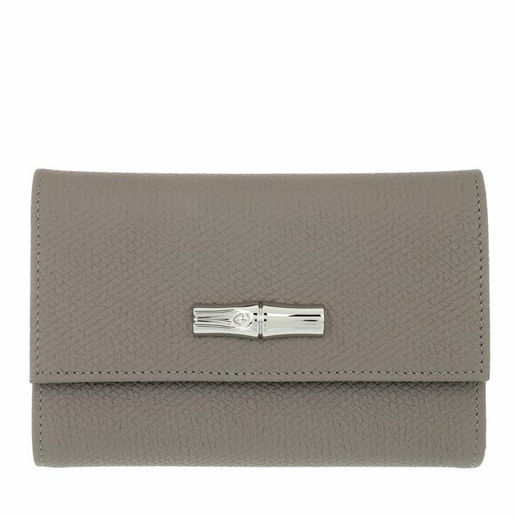 wallets, Longchamp, Roseau Wallet Turtle Dove