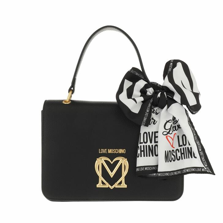 bags, Love Moschino, Borsa Pu  Nero