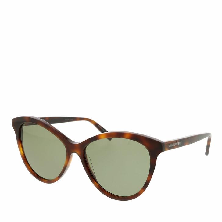 sunglasses, Saint Laurent, SL 456-002 57 Sunglass WOMAN ACETATE HAVANA