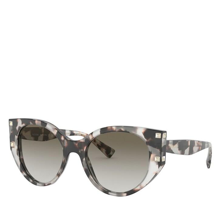 Sonnenbrille, Valentino, 0VA4068 Havana Brown