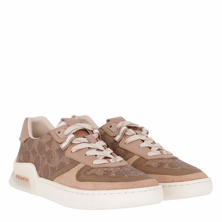 shoes, Coach, Citysole Court Sneaker Tan/Beechwood