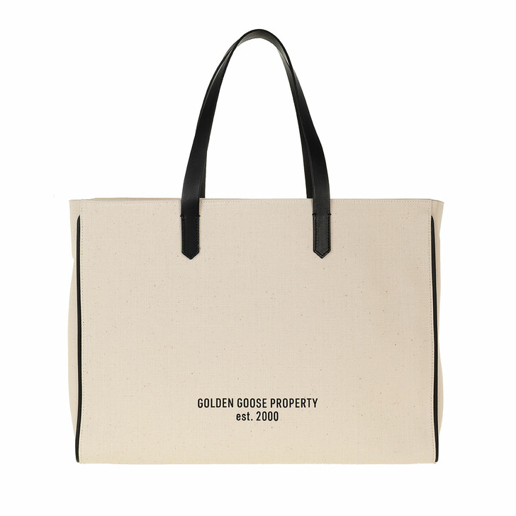 Handtasche, Golden Goose, California East-West White/Black