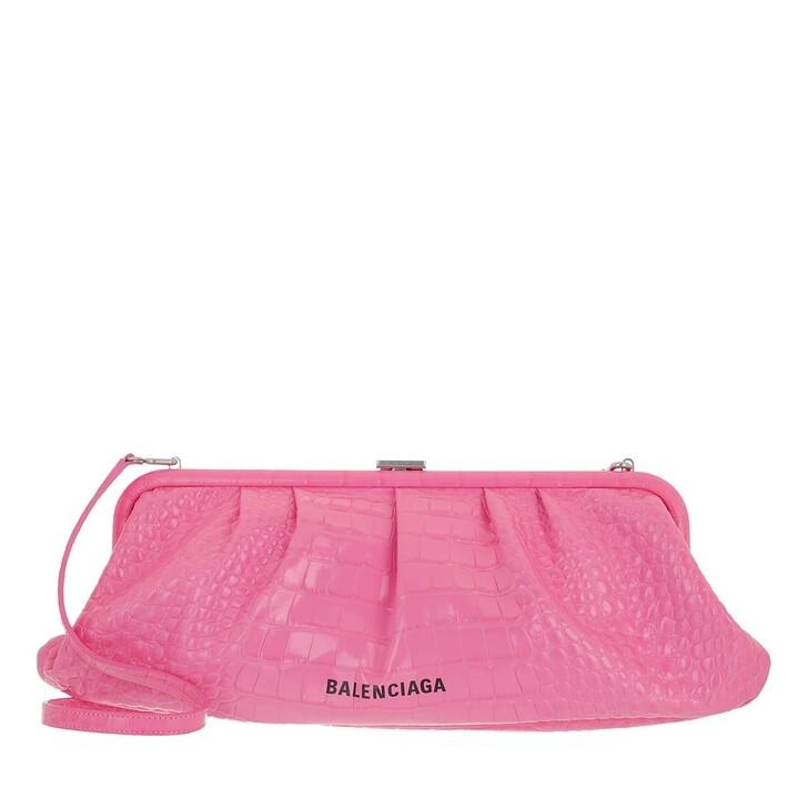 Handtasche, Balenciaga, XL Cloud Pouch With Strap Baby Pink