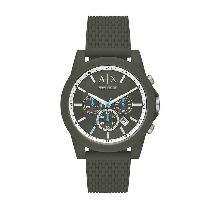 Uhr, Armani Exchange, Men Chrono Watch  Green