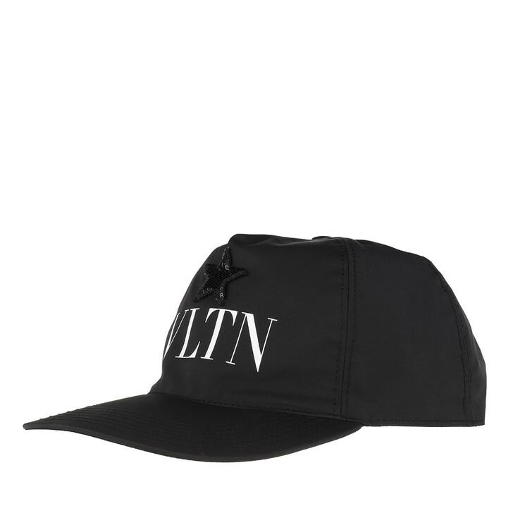 Mütze, Valentino Garavani, Baseball Cap Black/White