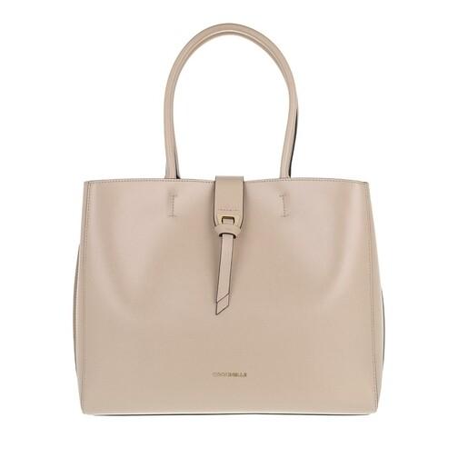 coccinelle -  Shopper - Alba Textured Shopper - in beige - für Damen