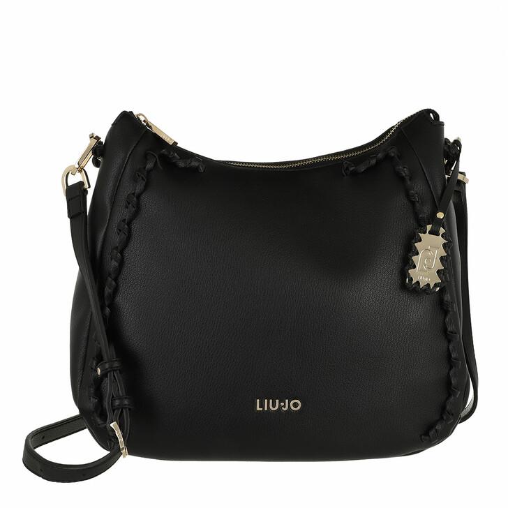 bags, LIU JO, M Hobo Black