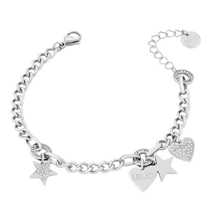 Armreif, LIU JO, LJ1385 Stainless steel Bracelet Silver