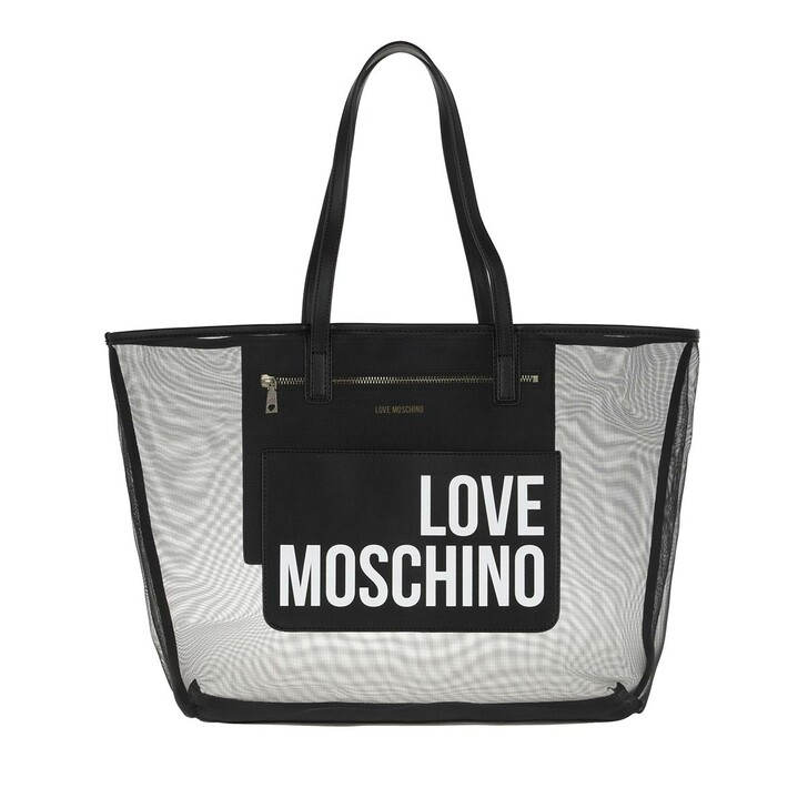 Handtasche, Love Moschino, Shopping Bag Black