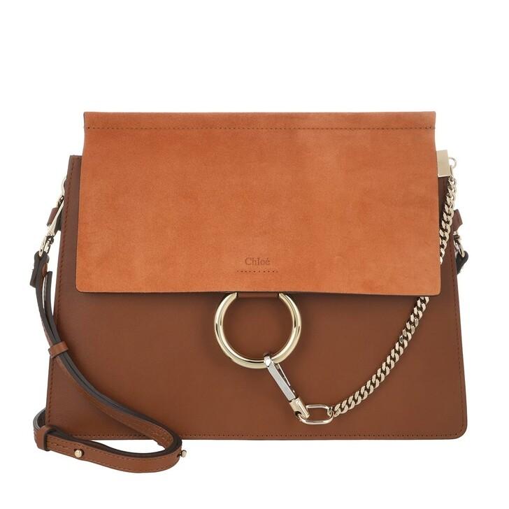 bags, Chloé, Faye Shoulder Bag Classic Tobacco