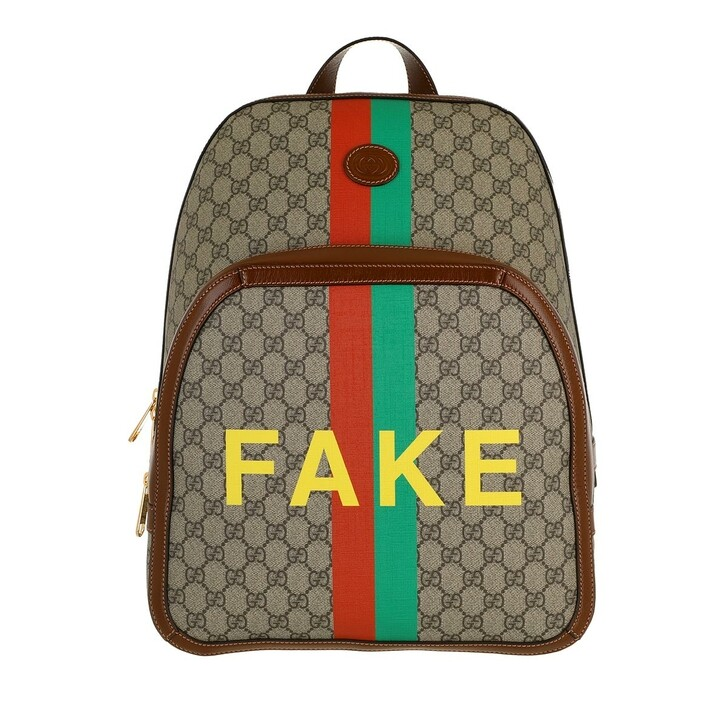 bags, Gucci, Not Fake Backpack Multicolor