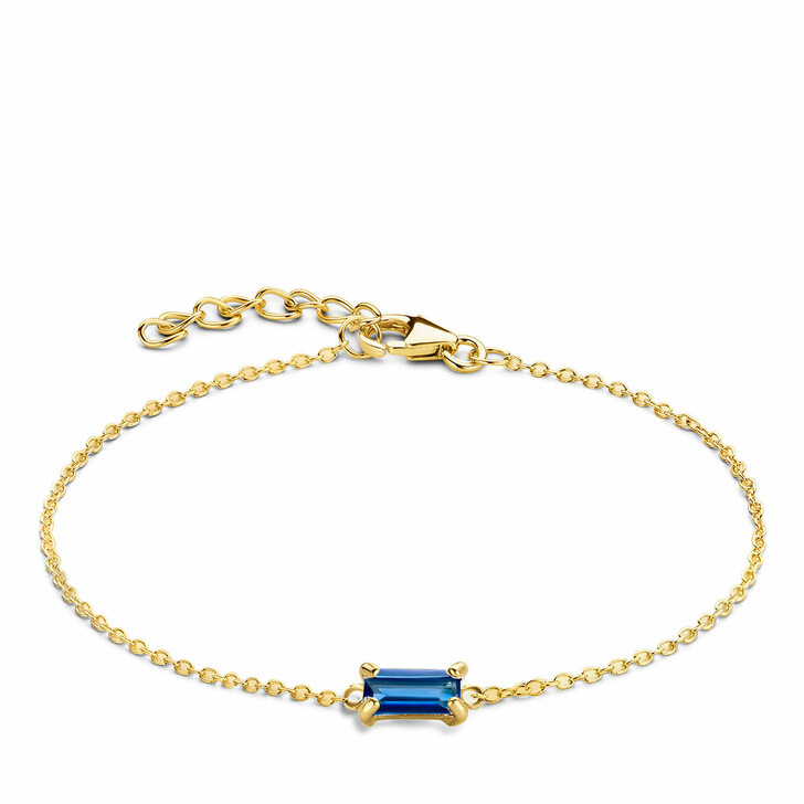 bracelets, Isabel Bernard, Baguette Mirell 14 Karat Bracelet