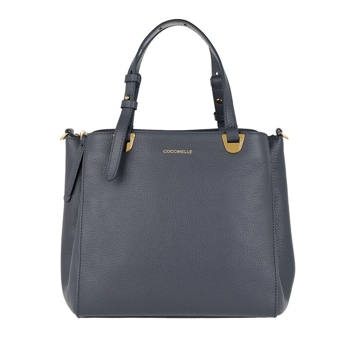 Handtasche, Coccinelle, Handbag Grained Leather Ash Grey