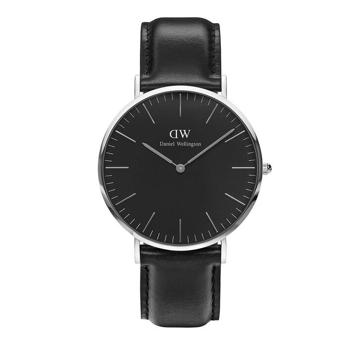 Uhr, Daniel Wellington, Classic Black Sheffield 40 mm Black