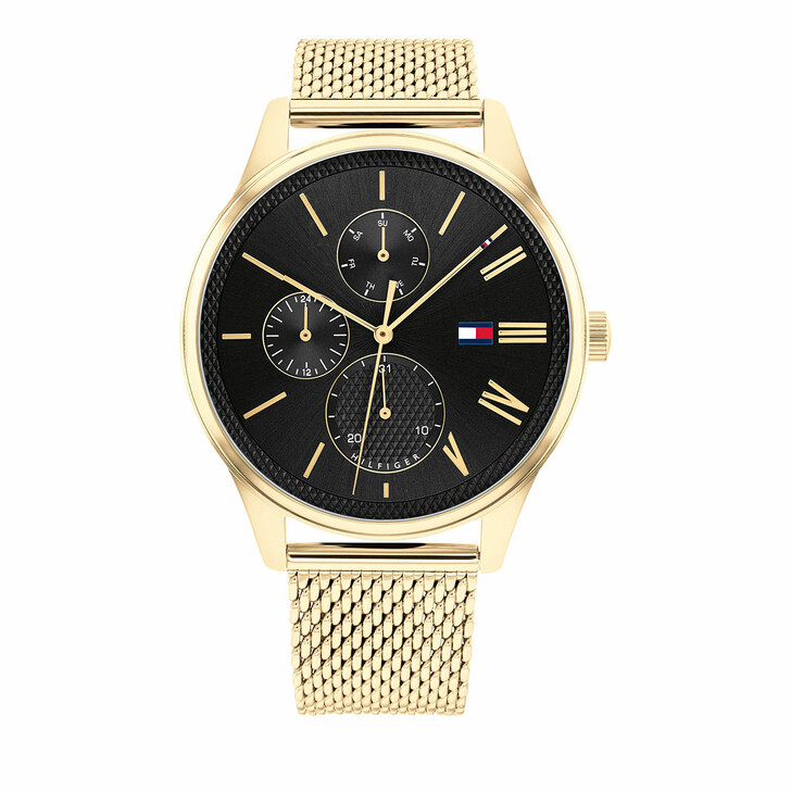 watches, Tommy Hilfiger, Watch Classic Gold