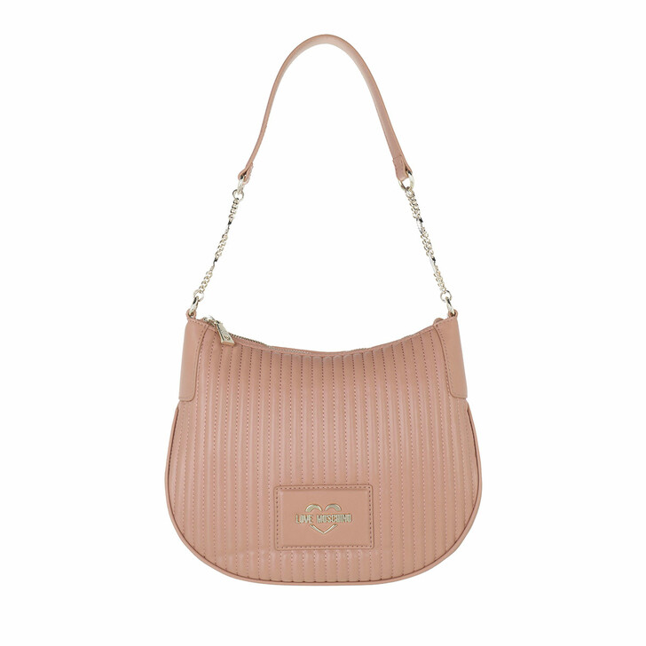 bags, Love Moschino, Borsa Quilted Pu   Rosa Antico