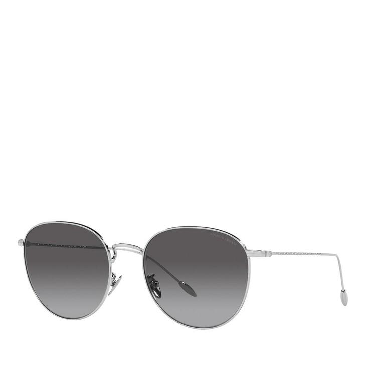 sunglasses, Giorgio Armani, 0AR6114 Silver