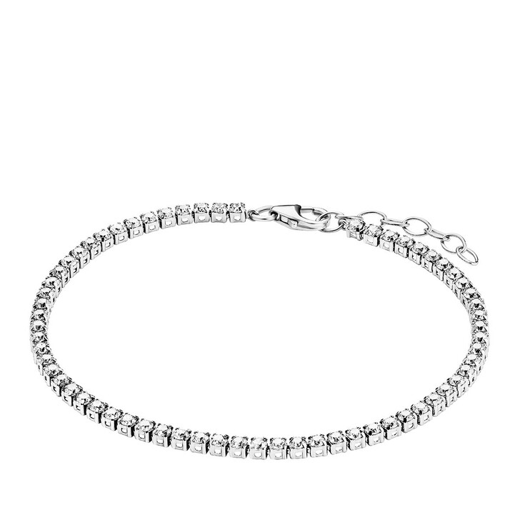bracelets, BELORO, Bracelet Sparkling Zirconia Silver