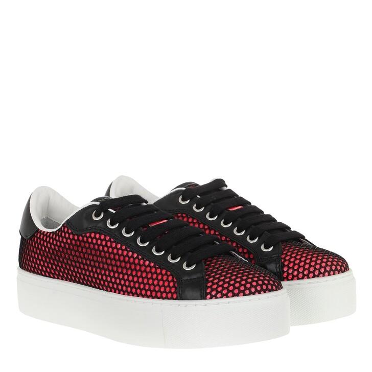 Schuh, Dsquared2, Mesh Low Top Sneaker Fuchsia