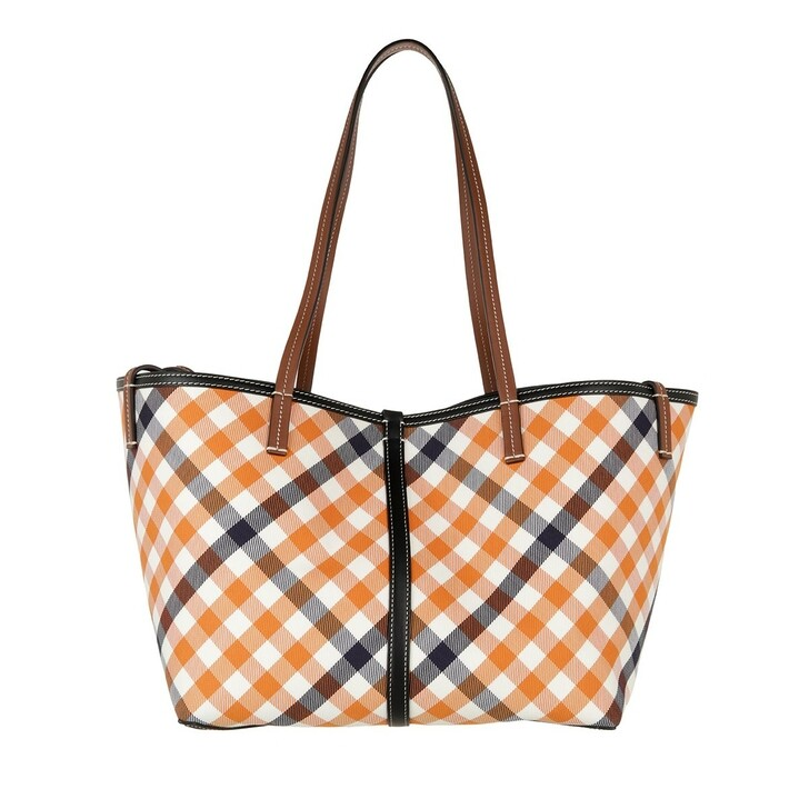 bags, Burberry, Mini Beach Tote Bag Bright Orange