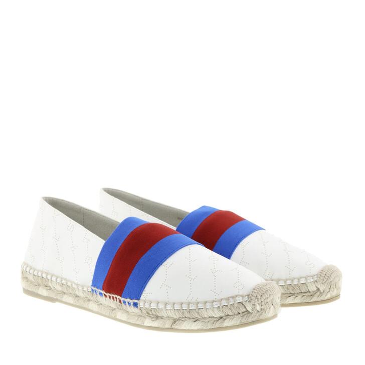 Schuh, Stella McCartney, Bicolor Espadrilles White