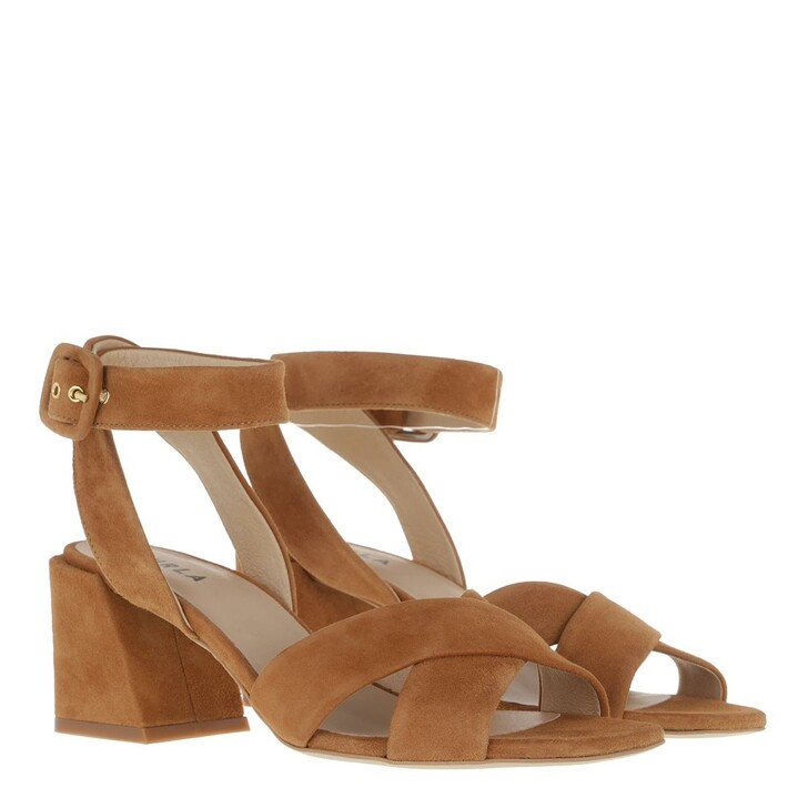 Schuh, Furla, Furla Cross  Sandal T.60 Miele