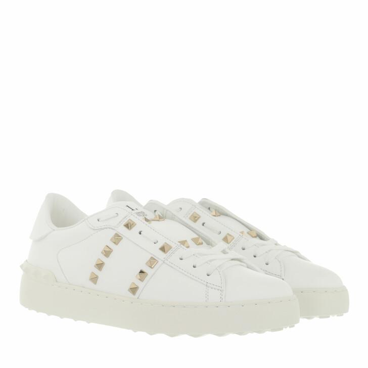 shoes, Valentino Garavani, Rockstud Untitled Sneaker White